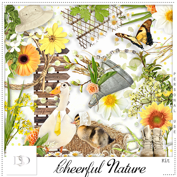 Cheerful Nature Kit