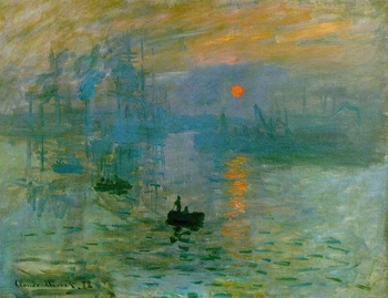 Impression soleil levant (Claude Monet 1872)