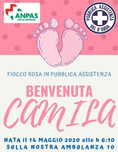Benvenuta Camila !