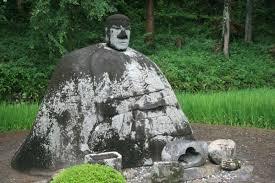 L'étrange Bouddha en pierre de Manji