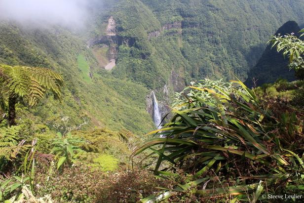 La Réunion de l'intérieur vers la côte