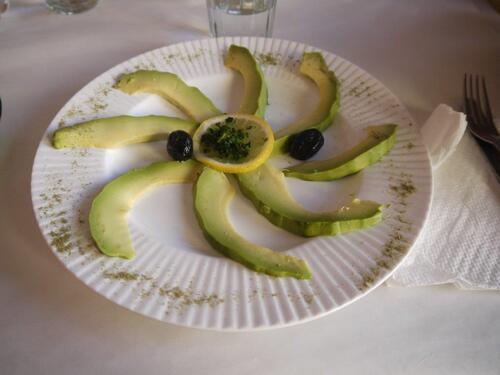 Avocats vinaigrette