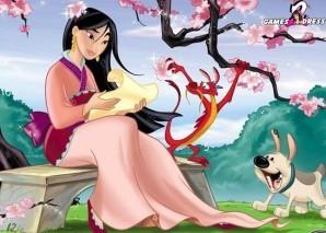 Hidden numbers - Mulan