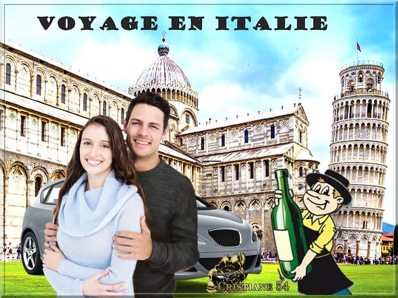 Voyage en Italie , défi pour Marjolaine !