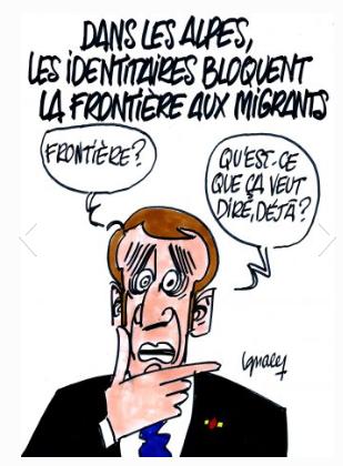 Macron et son équipe : bla ... bla et bla ...