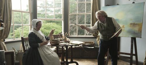 Mr Turner et Mrs Booth