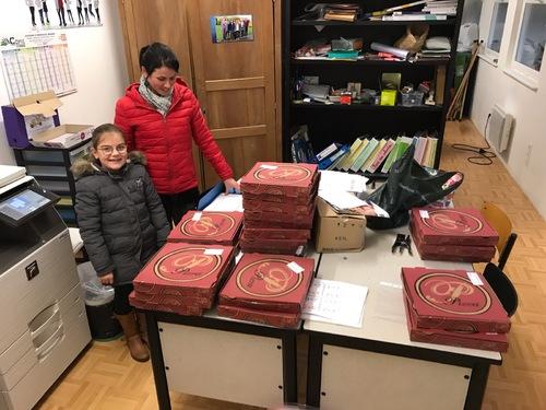 Livraison des pizzas