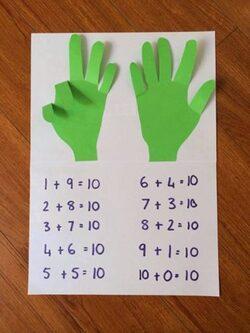 compter jusqu'à 10 (les amis de 10)