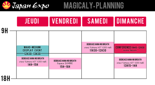 Japan Expo : Dédicaces