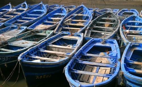 barques Essaouira Maroc