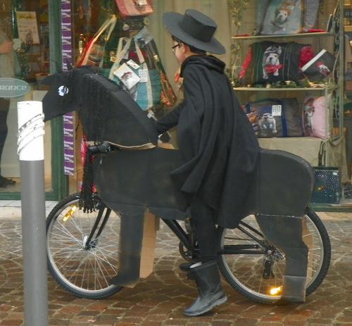 Vélos décorés