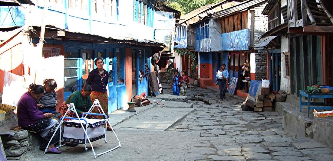 1-En traversant les villages