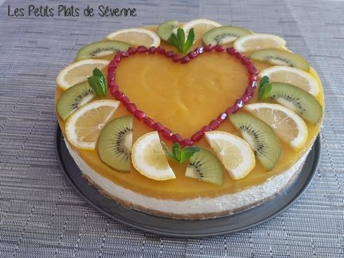 Cheesecake St Valentin