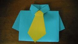 art : fête des pères, origami
