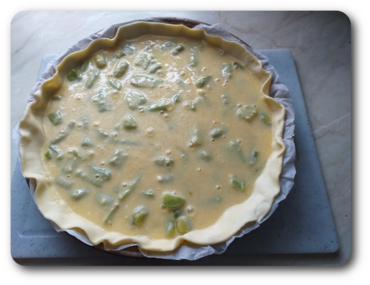 Tarte A La Rhubarbe Crème Aux Amandes