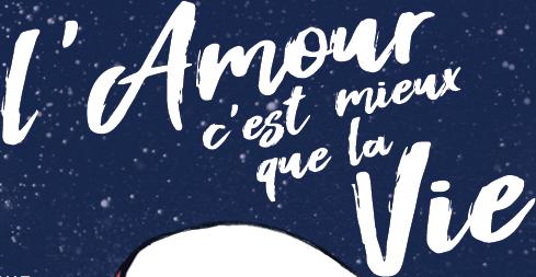 L'AMOUR C'EST MIEUX QUE LA VIE : découvrez l'affiche du nouveau film de Claude Lelouch !