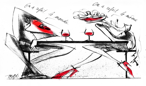 In vino veritas vin Nouveau Monde ivresse oenologie