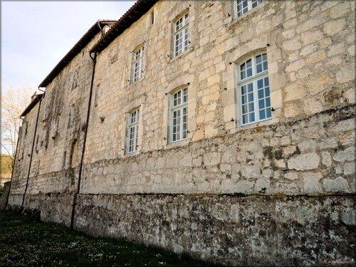 Les bâtiments conventuels de l'Abbaye d'Arthous