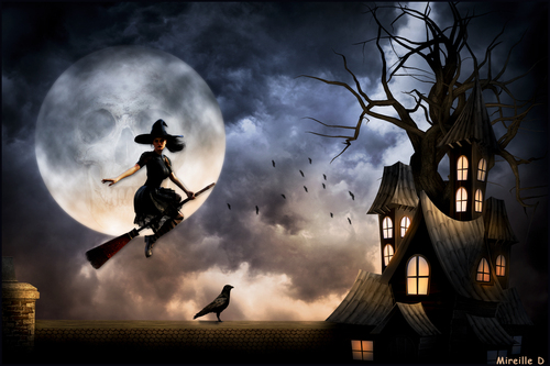 Nuit Halloween (Photomontage)