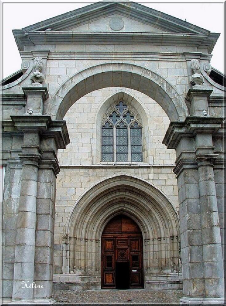 Moutiers ,sa Cathédrale St Pierre