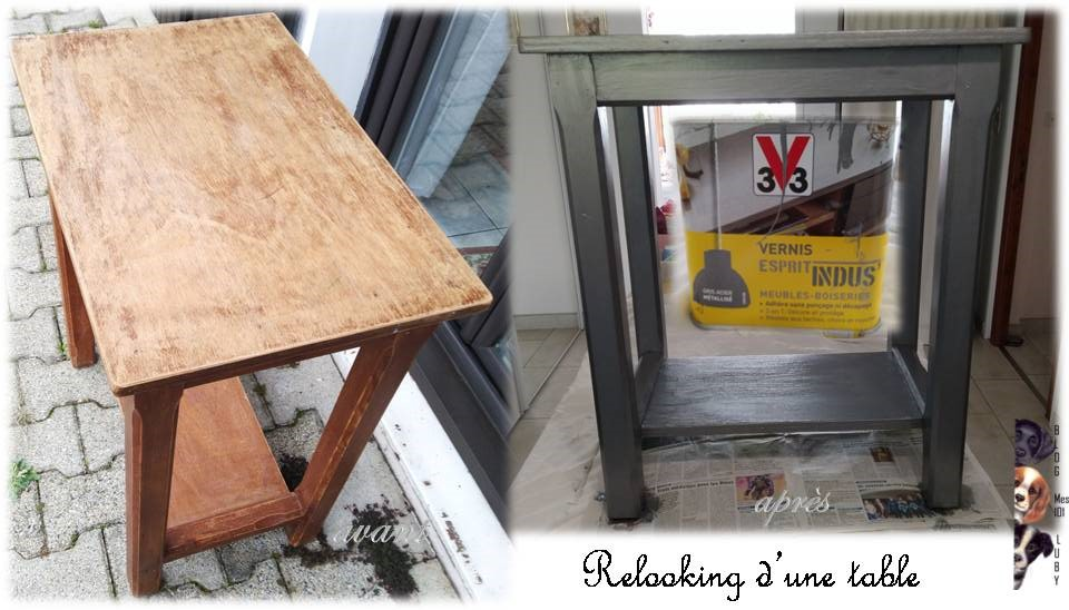 Relooking d'une table