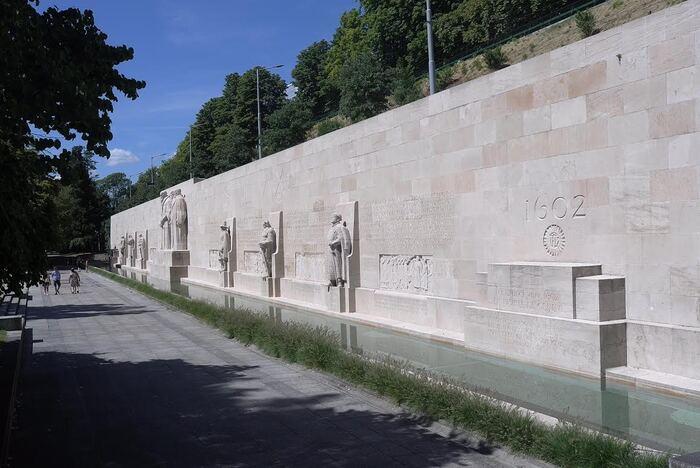 La parc des Bastions et les réformateurs