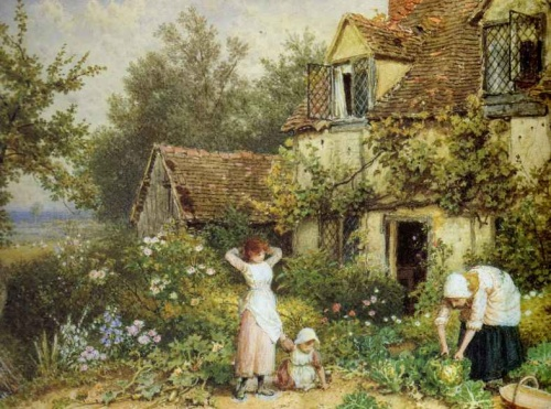 Peintres anglais 2 Myles Birket Foster