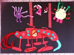 Arts visuels autour des monstres