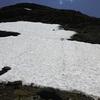 Dans la descente de la crête Nord du pic de Sècres, regard derrière