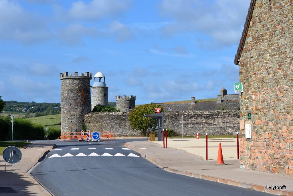 le château du Rozel