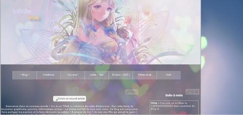 On va fêter la 1000 ème re ouverture du blog ( toujours a cause d'un nouvel ordi x) )