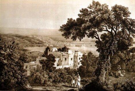 alger4-dessin-vue-Villa-RaisHamidou