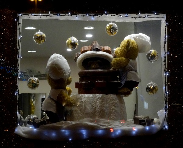 Vitrines de  fêtes, de nuit, 2016 à châtillon sur Seine