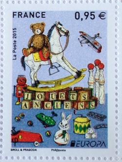 0D120 Les jouets en timbres ?