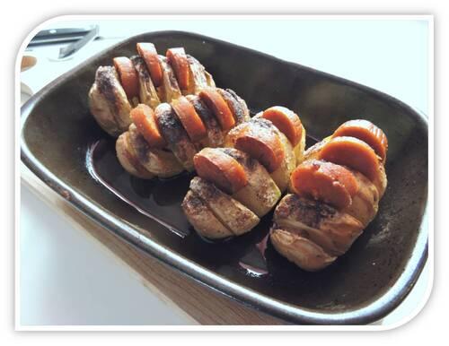 Pommes-de-terre au four avec du Miaoum-vg ...