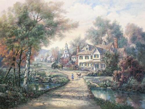 Peinture de : Carl Valente