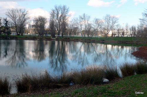 Toulouse : le tour d'un petit lac ...
