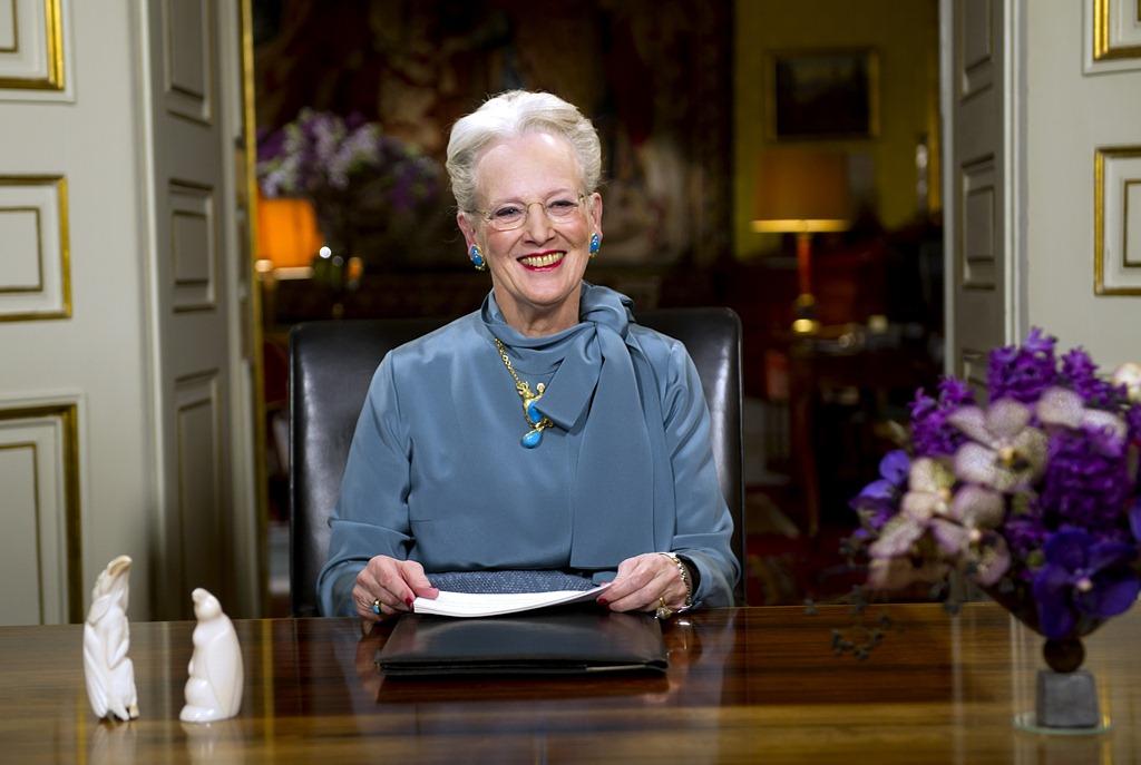Voeux de la reine Margrethe de Danemark
