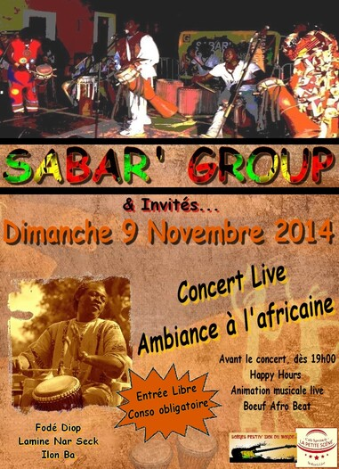 ★ Sabar' Group [9 Novembre]