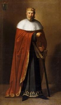 Ramire Ier d'Aragon, portrait par Manuel Aguirre y Monsalbe vers 1851-1854