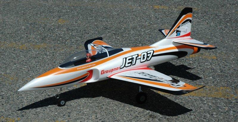 Graupner Jet07 : comment l'améliorer