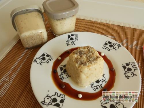 Crème renversée vanille (Seb Multi délices)