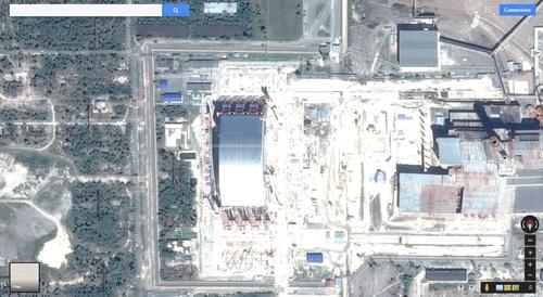 Sarcophage de Tchernobyl