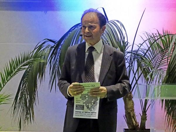 Les voeux d'Hubert Brigand, maire de Châtillon sur Seine pour la nouvelle Année 2016