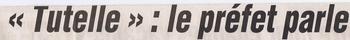 010 12 octobre 2003 Tutelle le Préfet parle