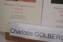 Le livre sur la place 2012. Charlotte Goldberg