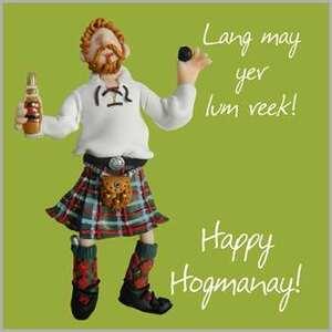 Happy Hogmanay !