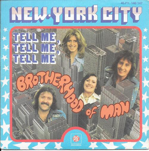 Brotherhood Of Man - New York City 01