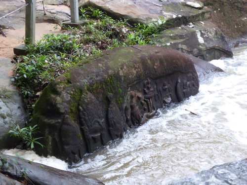 J15, Site de Kbal Spean, Cambodge