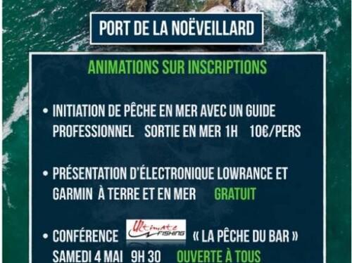 Compétition de pêche en mer